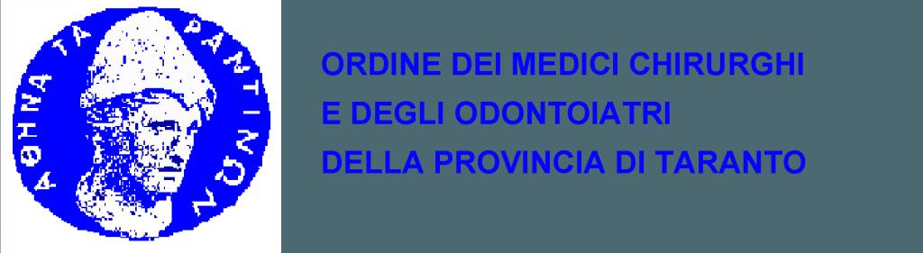 Ordine dei Medici Chirurghi e degli Odontoiatri della Provincia di Taranto